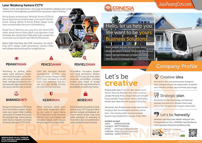 company profile ernesia cctv indramayu